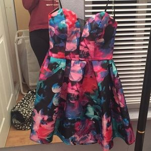 Floral Prom/Homecoming Dress